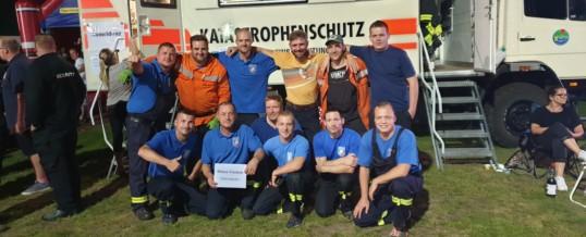 Flutlichtpokal in Spornitz und Kreisfeuerwehrmarsch